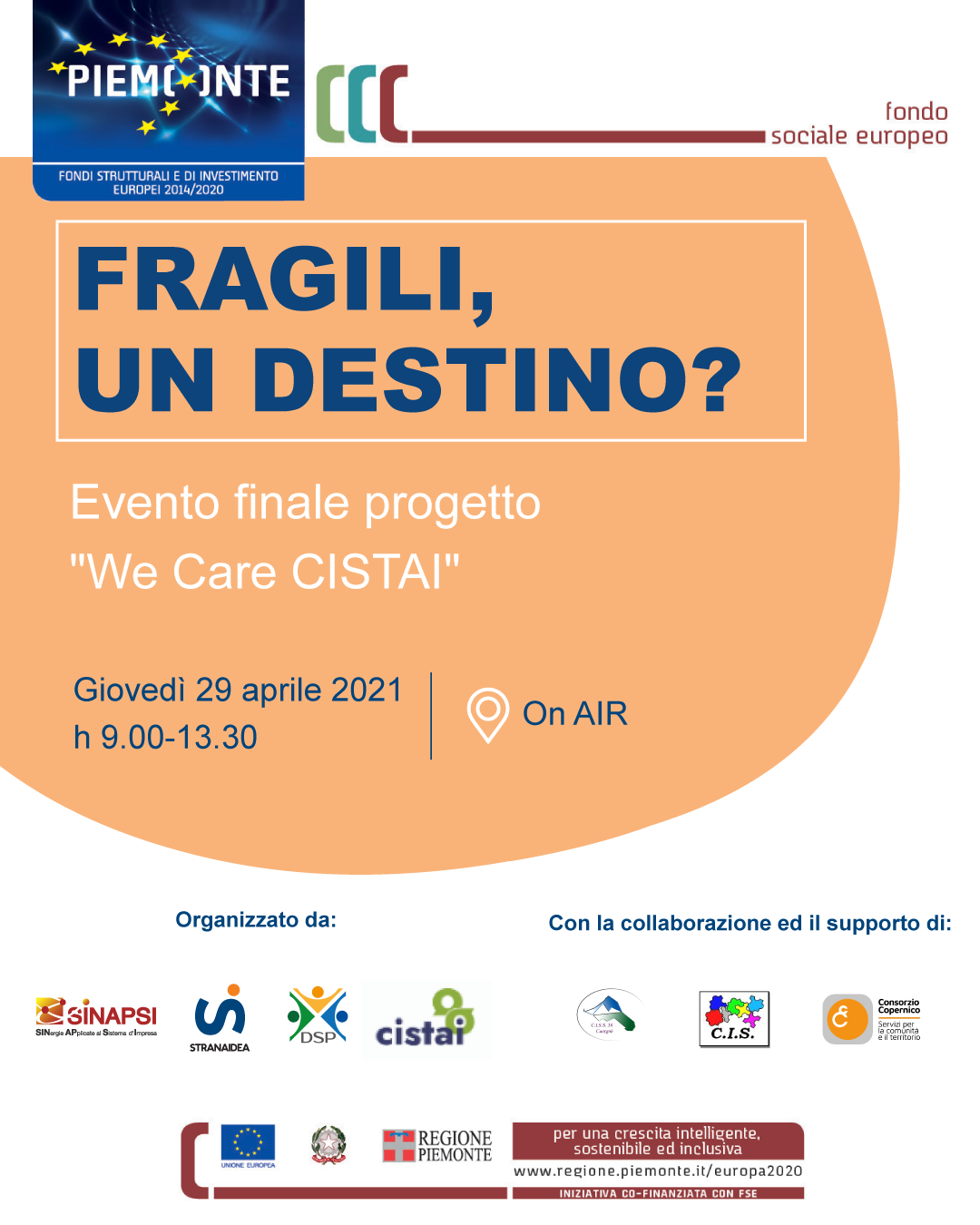 """Evento finale """"We care CISYAI"""""""